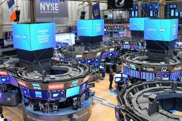 Floor of the New York Stock Exchange