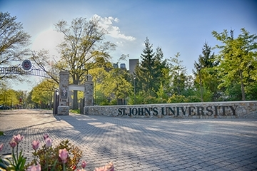 St. Johns Queens Campus Gate