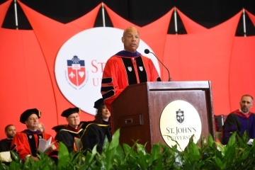2019 St. John's Law Commencement Speaker Jeh C. Johnson