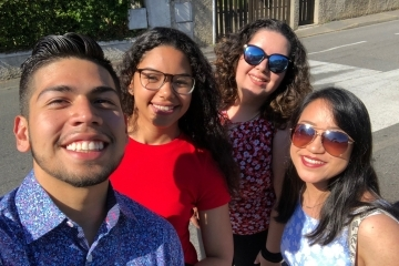 Paul Espiritu, Samantha Melendez, Keyla Peyano, and Theresa Vogel
