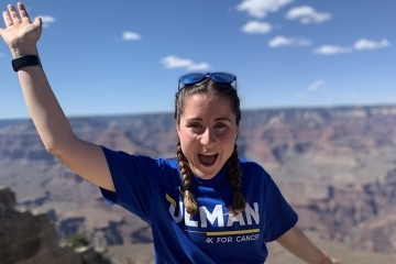 Amanda Murray at Grand Canyon