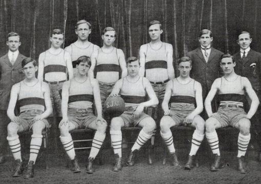 1908 Basketball Team