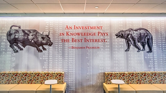 """An Investment in Knowledge Pays the Best Interest"""