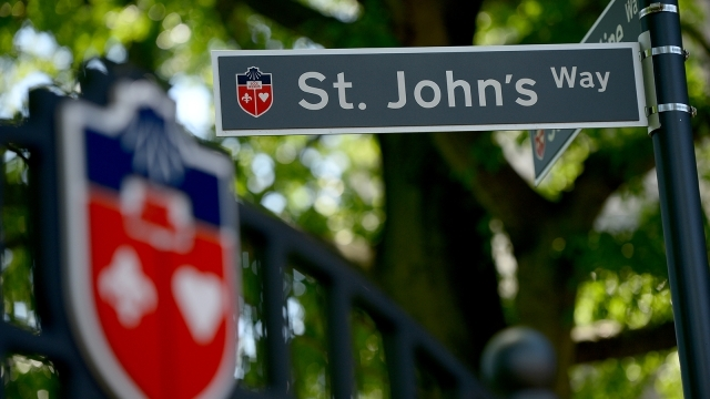 Street Sign with St. John's Way
