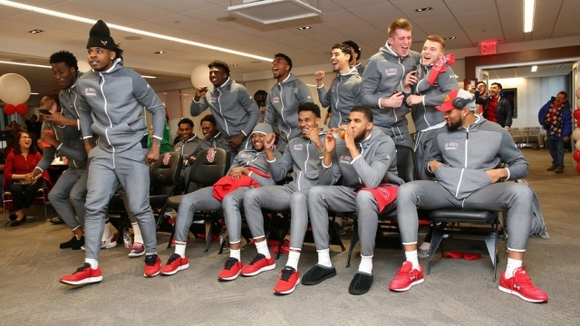 Men's team reacts to tournament selection