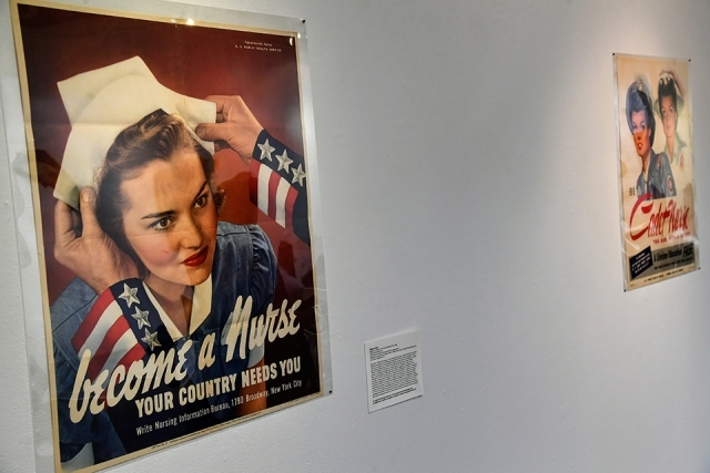 Rally the Home Front: World War II Propaganda Posters exhibit