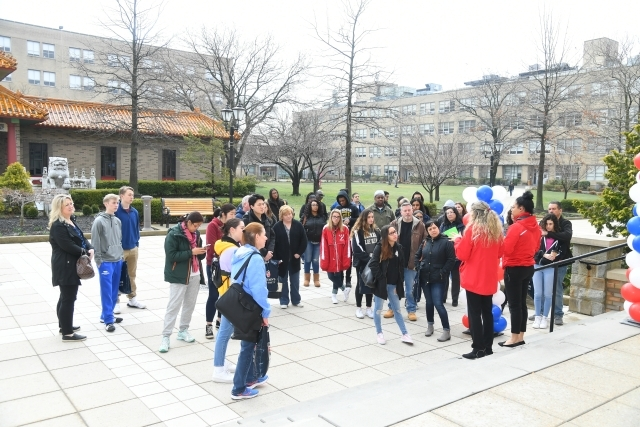 Accepted Student Day at Queens Campus