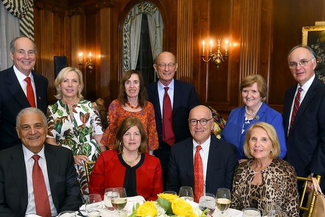 2019 Founder's Society Dinner attendees