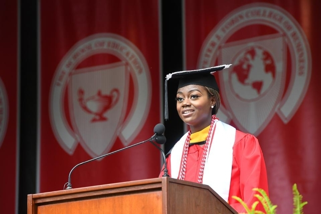 2019 Commencement Student Address Beverly Danquah