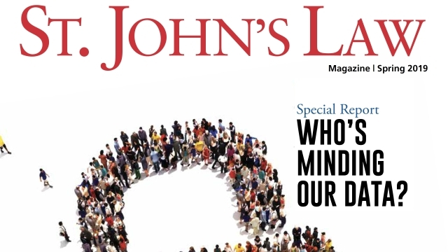 St. John's Law Magazine Spring 2019 Cover