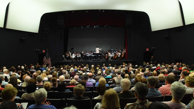 Shot of the Summer Concert in Little Theater