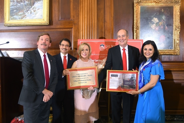 St. John's University Receives Historic Gift from Lesley H. and William L. Collins