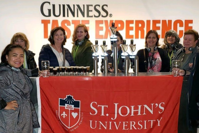 Alumni and Friends at the Guinness Taste Experience