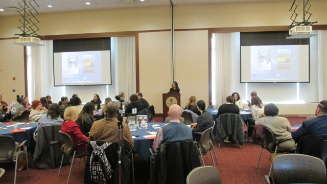 Images from Trauma Conference in D'Angelo Center on Saturday, 11/2/19