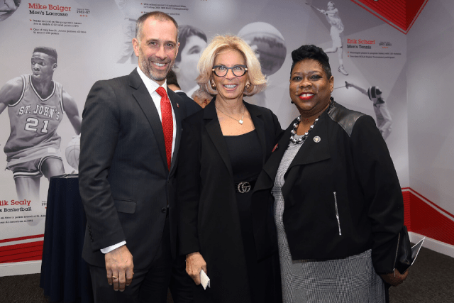 St. John's University Hosts Inauguration of Honorable Melinda Katz '90L, first female District Attorney of Queens County