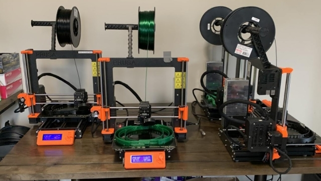 3D Printer making PPE