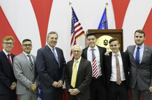 Medal of Honor Recipient, Col. Jack H. Jacobs, Speaks at St. John's Staten Island Campus