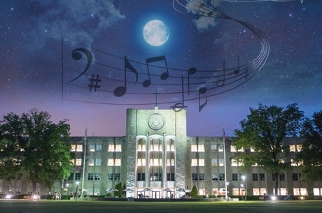 Stormy Weather For Public Libraries And >> Despite Stormy Weather Concert Guests Share An Evening On Campus