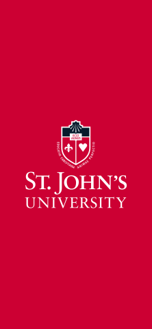 St Johns University logo