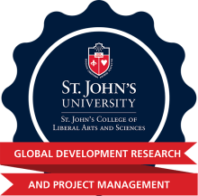 Global Development Research and Project Management Digital Badge