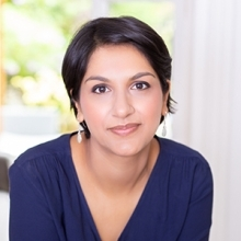 Headshot of Angela Saini