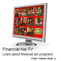 Financial Aid TV Graphic