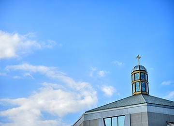 Top of St. Thomas More Church