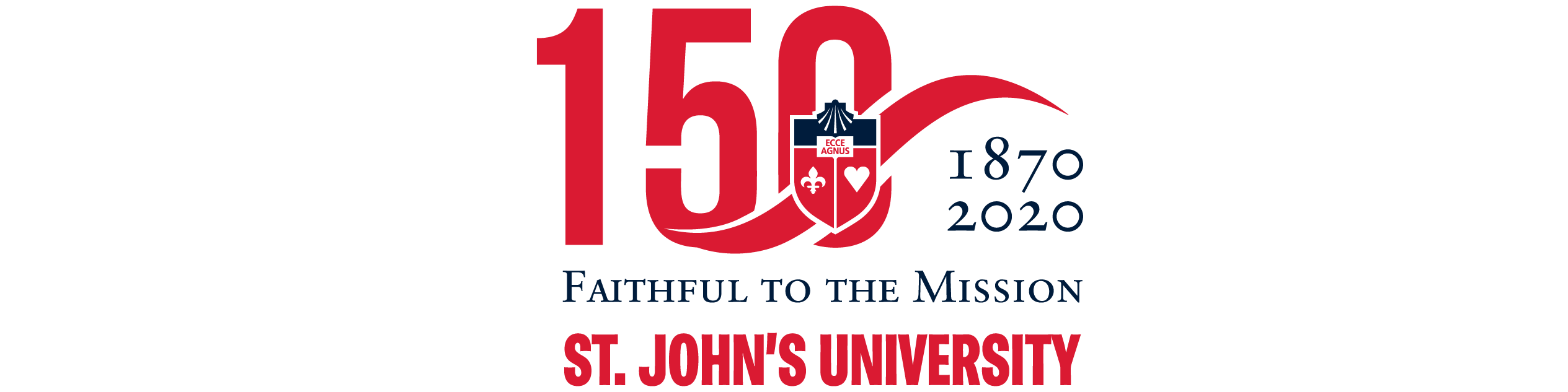 St. John's University 150th Logo