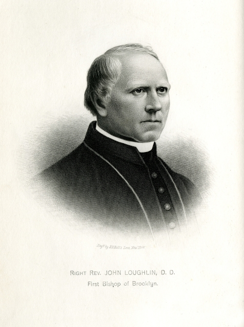 Image of Right Rev. John Loughlin, D.D., First Bishop of Brooklyn