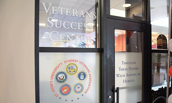 Veterans Success Center | St  John's University